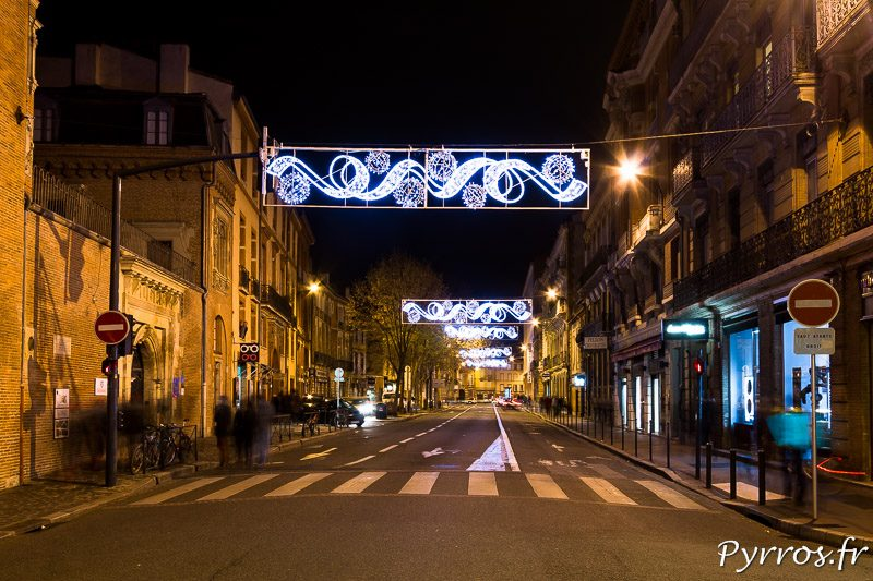 Illuminations de Noël à Toulouse