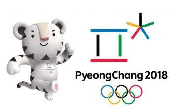 Logo et mascotte de Jeux Olympiques d'hivers à Pyeongchang en Corée du Sud