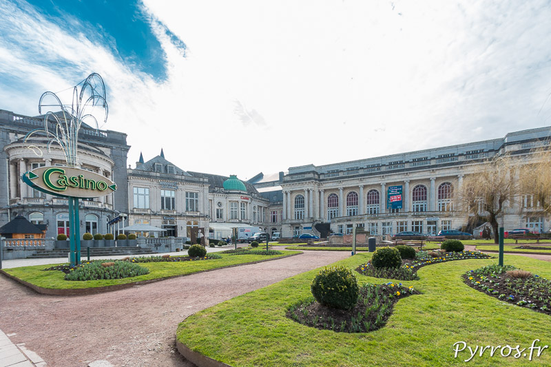 Le Casino de Spa et son jardin