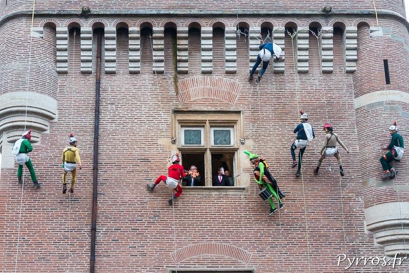 Le Maire de la Ville remet les clés de la villes aux organisateurs Carnaval 2018 de Toulouse