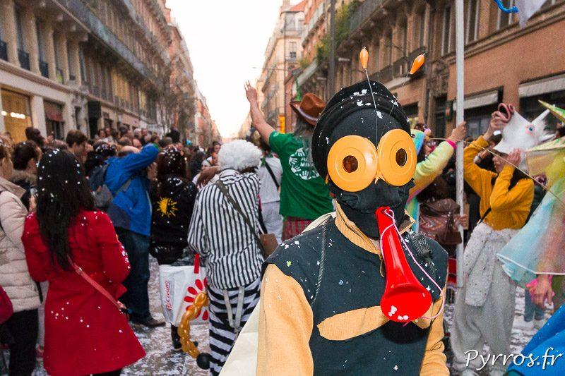 Portrait, Carnaval 2018 de Toulouse