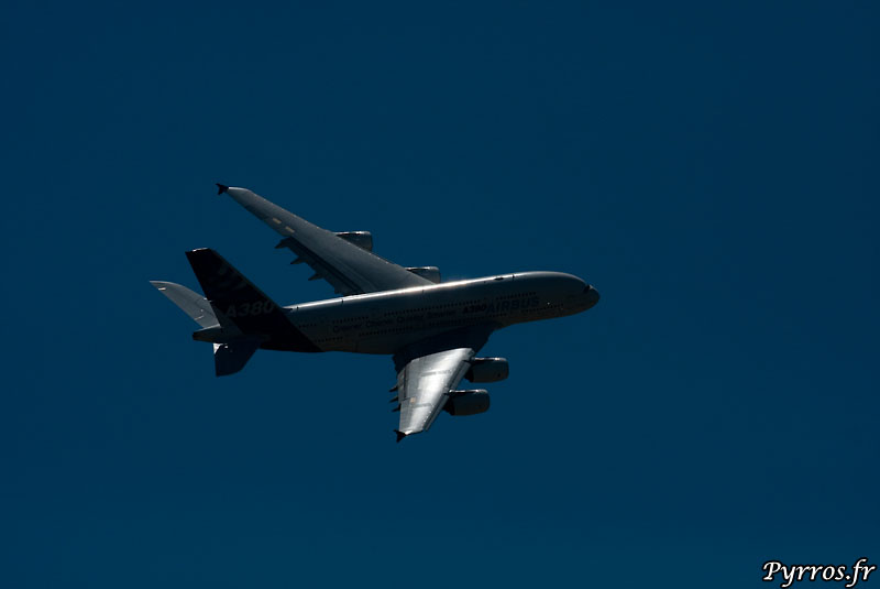 A380 sous le soleil