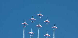 Patrouille de France (PAF) vol en diamant
