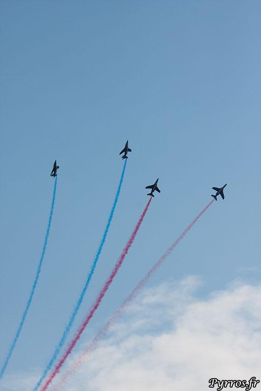 Patrouille de France (PAF) gerbe