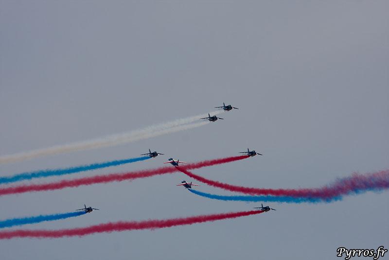 Patrouille de France (PAF) croisement