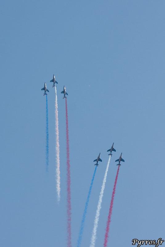 Patrouille de France (PAF) le coeur