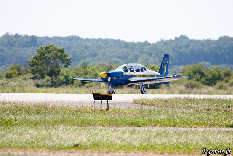 TB30 Epsilon Cartouche Doré atterrissage du numéro 2