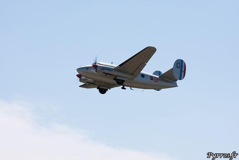 décollage du MD 312 Flamant