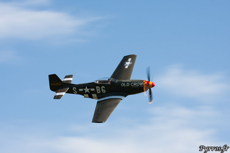 North American P-51D Mustang old crow