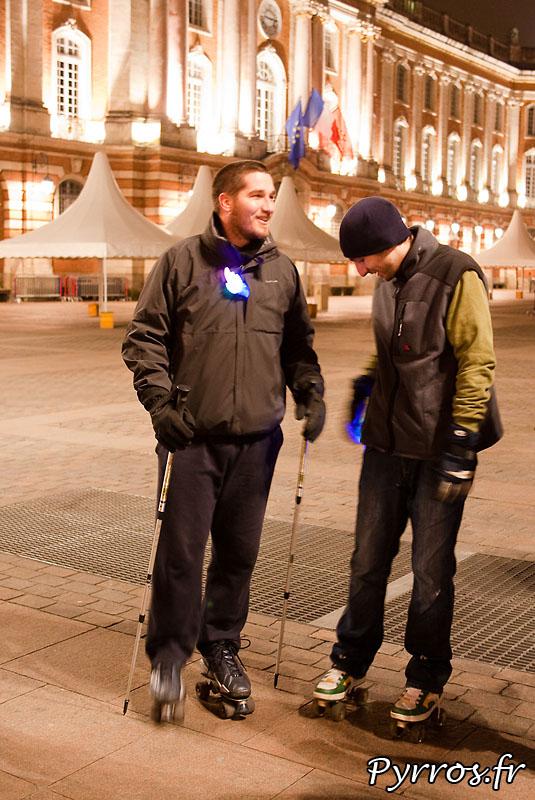 Rando à Theme : Jeux Olympiques d'hiver a Vancouver, briefing de shrek les randonneurs sont aussi de la partie