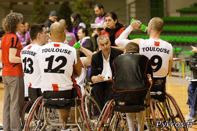 Euro Ligue 2 (handibasket) Tour préliminaire Toulouse IC vs Fundacion Grupo Norte (Espagne), toulouse s'impose en prolongation 90 à 88, Explication de texte