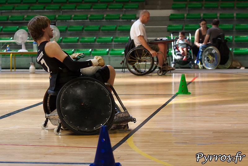 Seconde édition de la Rock N Rose Cup, au petit palais des sports de Toulouse. TEAM FLEMISH LIONS vs TEAM MARRAUDERS