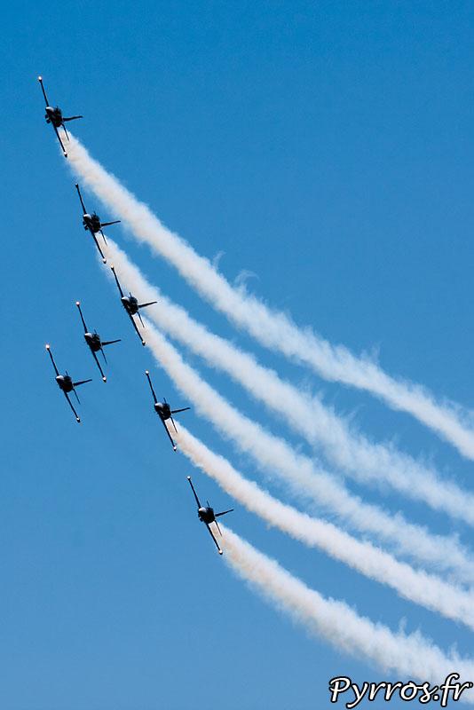 Breitling Jet Team, Formation B1