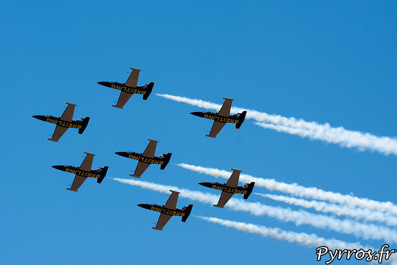 Breitling Jet Team, formation Calysto