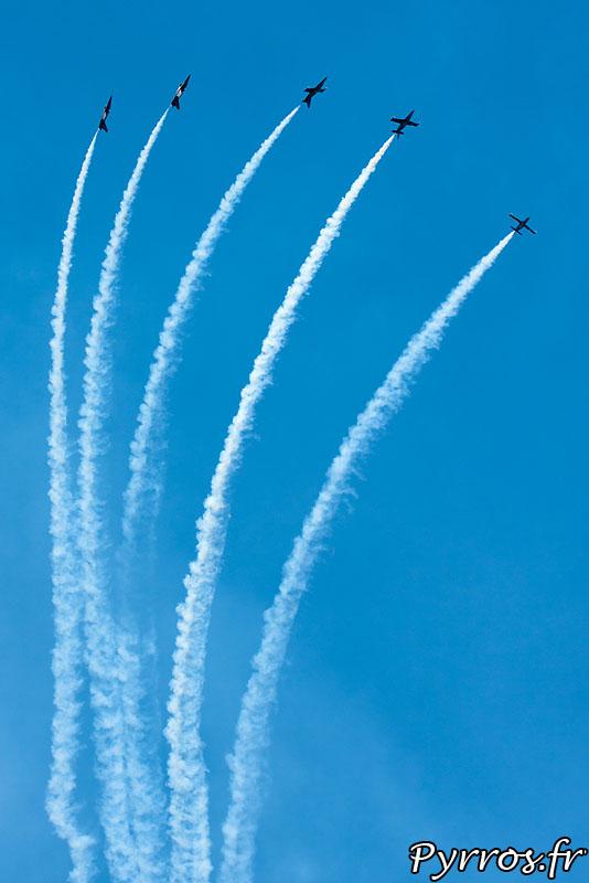 Breitling Jet Team, volute et barrique
