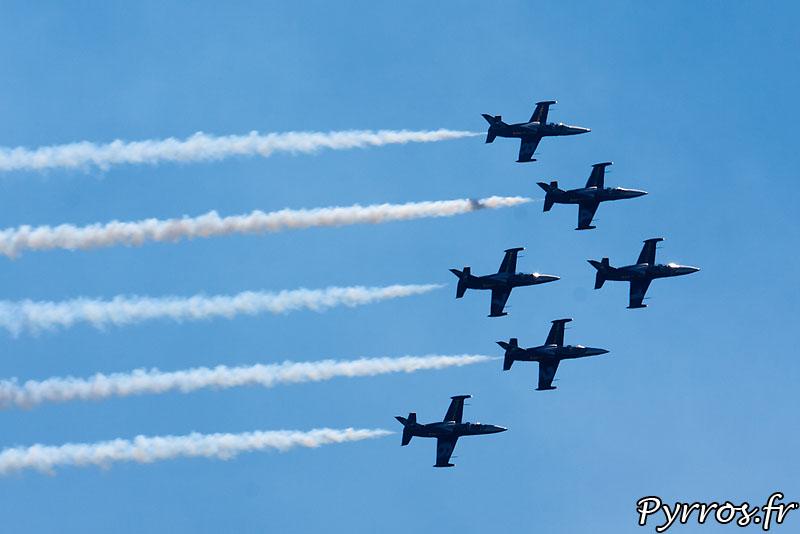 Breitling Jet Team.