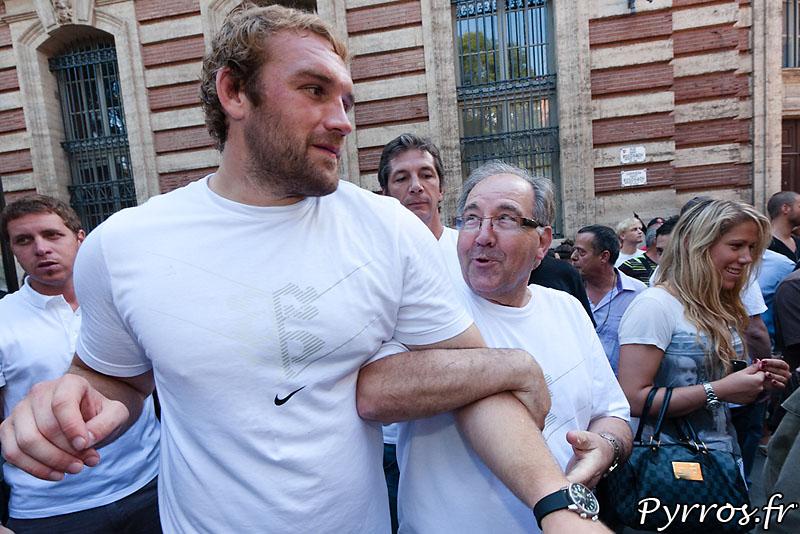 Romain MILLO-CHLUSKI rentre à la maison, forcé par l'encadrement du Stade Toulousain