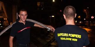 Les Pompiers de la caserne Vion attendent l'intervention pas comme les autres