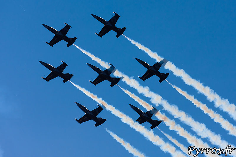 Breitling Jet Team en formation Calysto