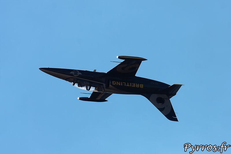 Breitling Jet Team passage dos à 700km/h
