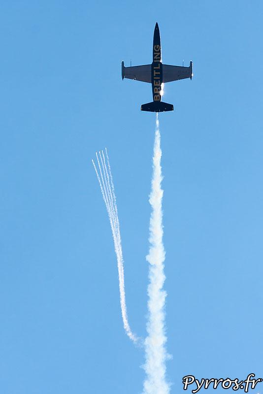 Breitling Jet Team Eclatement Final et feu d'artifice