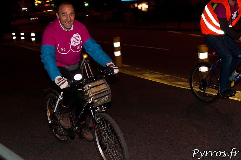 Octobre Rose, rando vélo