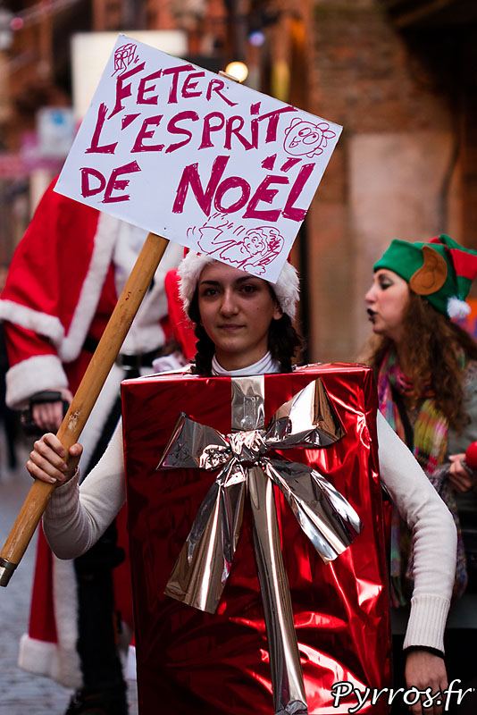 Cadeau vindicatif du SantaCon Toulouse