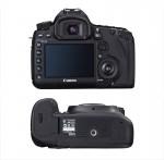 Canon Eos 5D mark3 vue arrière et du dessous