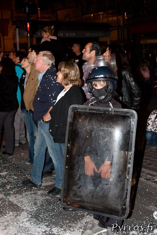 Mini CRS, Carnaval de Toulouse 2012
