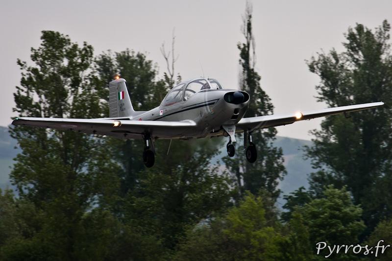Piaggio P.149 décollage, Airexpo 2012