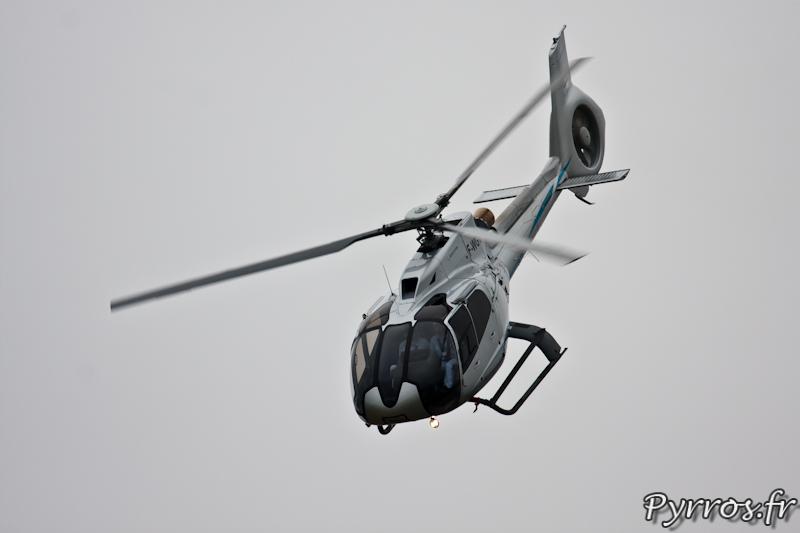 Prise de vitesse de l'EC130 T2, Airexpo 2012