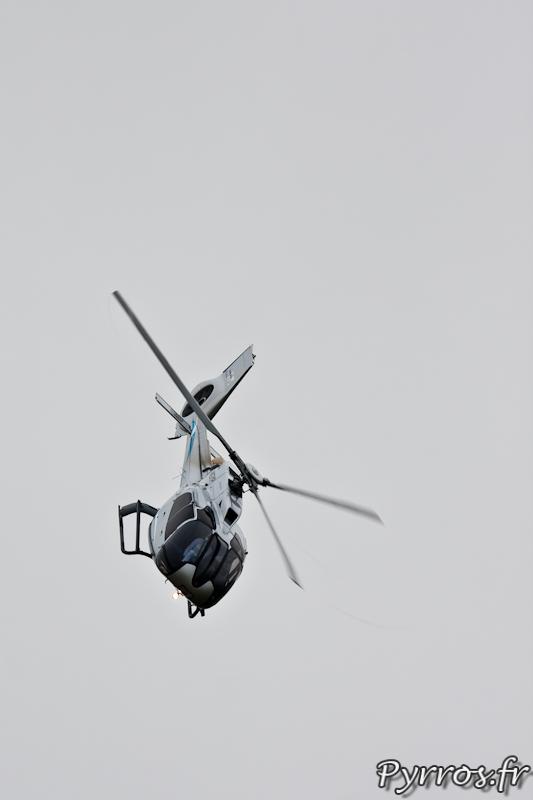 En descente, EC130-T2, Airexpo 2012