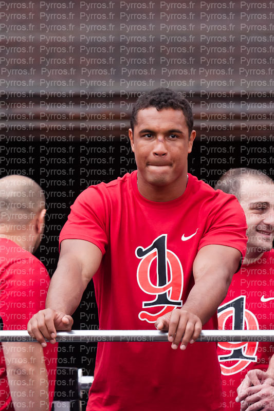 Thierry Dusautoir, Stade Toulousain 19 fois champion de France 2012