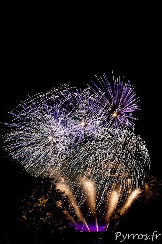 Feu d'artifice du 14 juillet 2012 à Toulouse