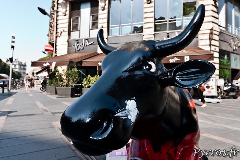 CowParade à Toulouse, la colère de la vache du stade toulousain