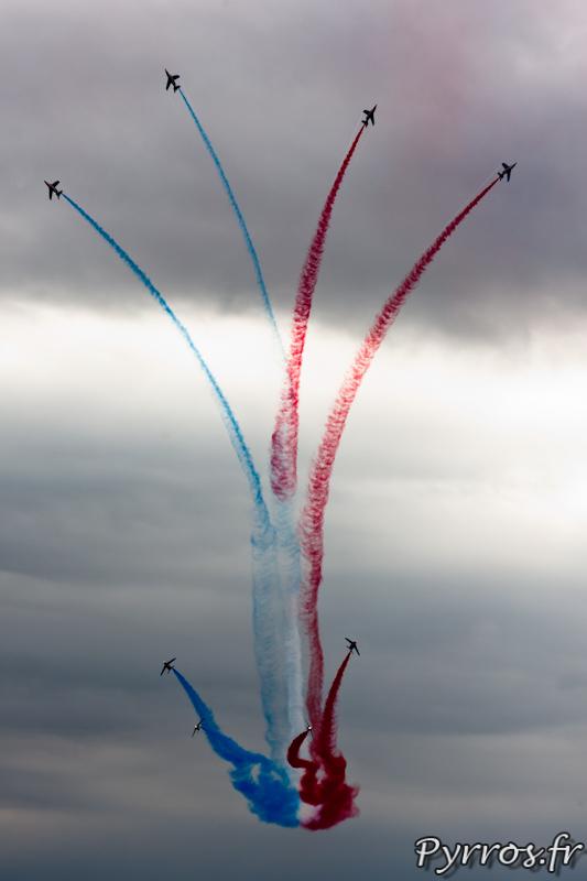 Patrouille de France, éclatement final