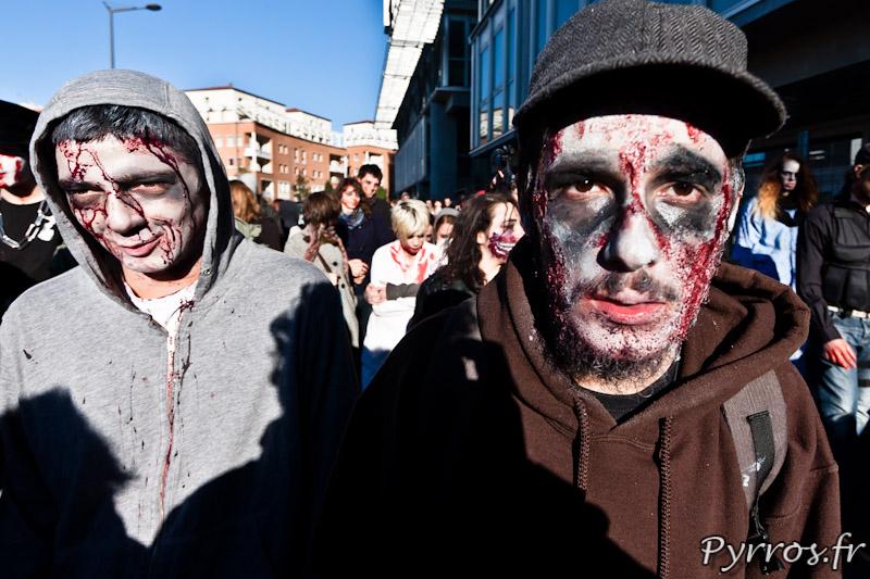 Marche des zombies, Toulouse 2012