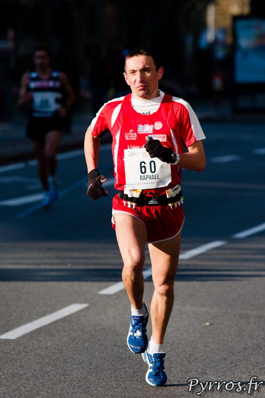 Marathon International de Toulouse Métropole, premier rictus, première douleurs ?