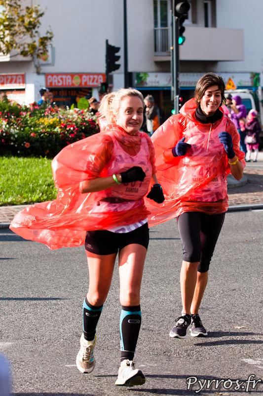 Marathon International de Toulouse Métropole, kilomètre 10 il fait encore froid