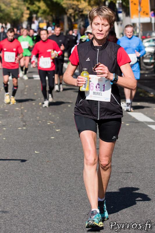 Marathon International de Toulouse Métropole boire et manger pour finir la course il reste 6 kilomètres
