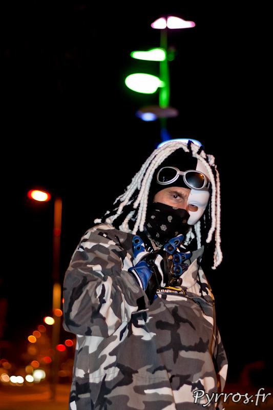 Le tueur sous le masque, Roulez Rose Rando'Ween