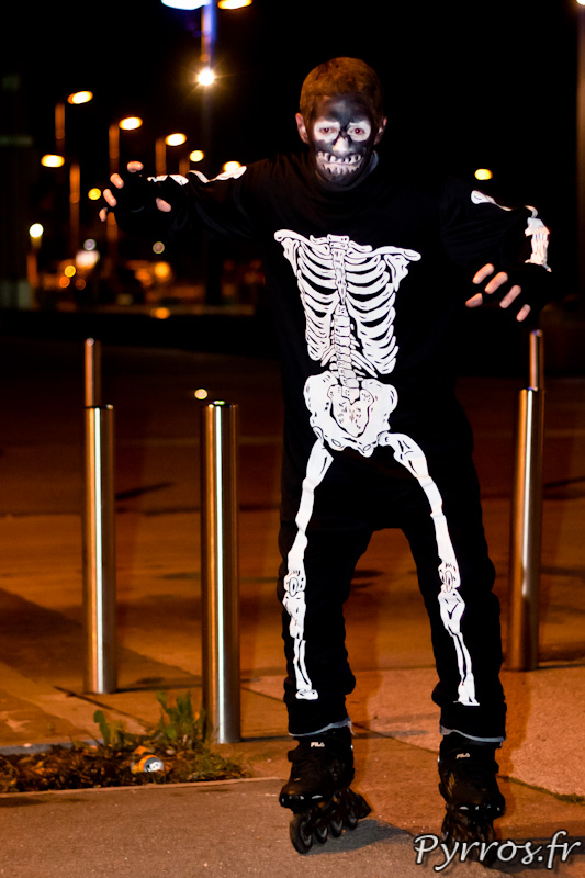 Squelette de la Maourine, Roulez Rose Rando'Ween