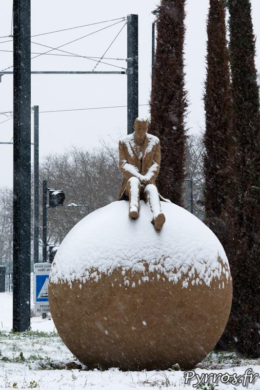 5 février 2012 il neige a Toulouse