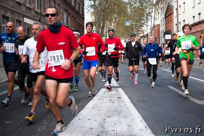 Marathon International de Toulouse Métropole, au cœur du peloton