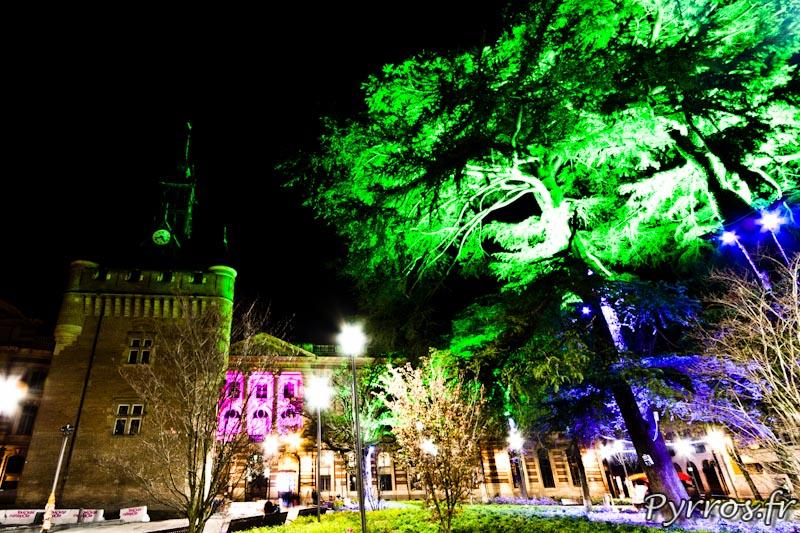 Eclairages de Noël à Toulouse