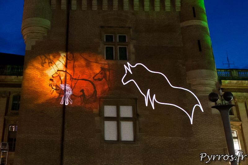 Les Holons du Donjon par Aymeric Reumaux, peintures rupestres