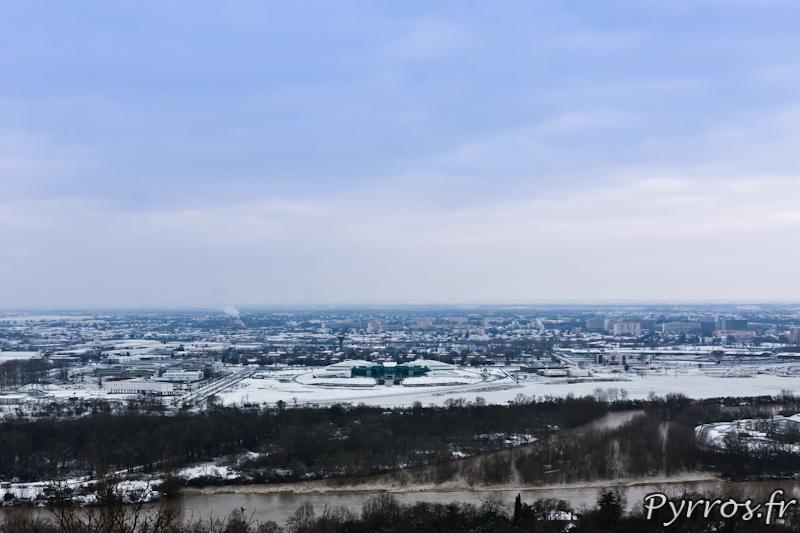 L'Oncopole est sous la neige