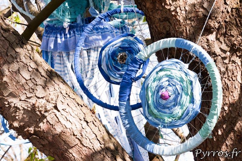 """Château d'eau - """"Cyklos"""" est une installation réalisée par Basile Harel et Maeva Longvert"""