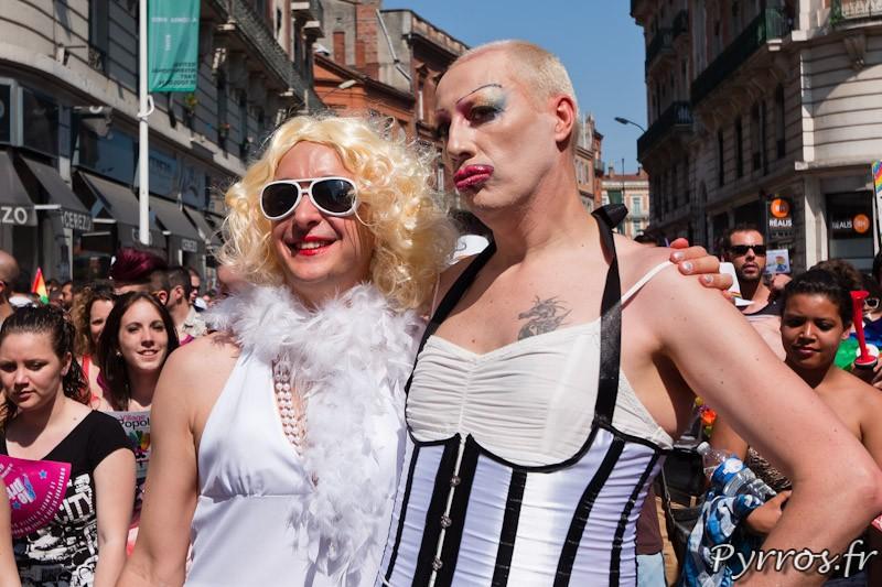 les travestis sont de sortie sous le soleil toulousain