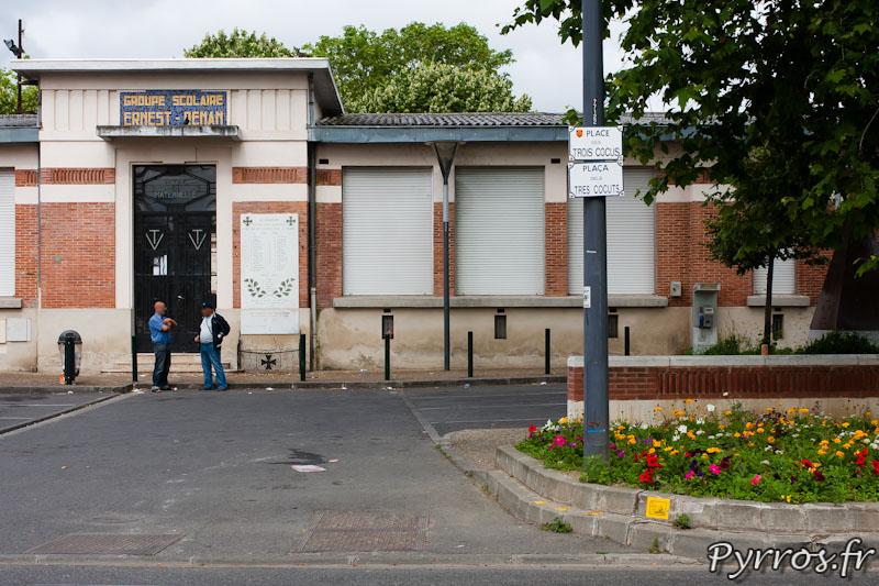 Station de métro des Trois Cocus